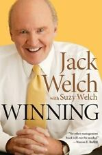 Winning by Suzy Welch and Jack Welch (2005, Hardcover) ISBN  9780060753948