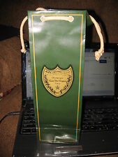 moet dom perignon gift bag 13 inch tall 4 1/2 wide 3 1/2 deep