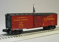 LIONEL UNION PACIFIC BOXCAR OPERATING BRAKEMAN overland up o gauge train 6-30188