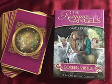 Romance Angels Oracle Cards 44 Card deck and guide
