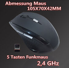 Wireless Optische Funkmaus PC Notebook Computer Maus Kabellos USB Mouse Maus
