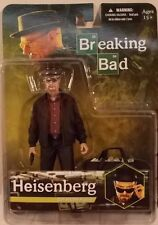 Breaking Bad Walter White Heisenberg Figure With Hat Sunglasses & Money by Mezco