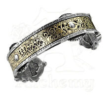 Alchemy of England Early Scientific Spectrostatic Nocturnium Cuff Bracelet