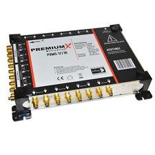Premiumx 17/16 Multi Commutateur HDTV 3d 4 satellites prémenstrualise 16-participants Multi Interrupteur