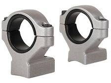 "NEW Remington 2-Piece Scope Mounts with Integral 30mm Rings, 1"" Inserts 19476"
