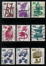 GERMANY 1972 Old Stamps - Safety First