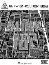 Blink-182 Neighborhoods Sheet Music Guitar Tablature Book NEW 000691179