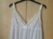 LADIES MAXI LENGTH FULL UNDER SLIP/PETTICOAT UK SIZES 8-26 BLACK CREAM WHITE