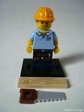 LEGO SÉRIE 13 / Collectable Minifigures 71008-9 Carpenter [ Neuf ]