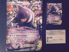 POKEMON GENGAR EX (34-119) REGULAR holo, Jumbo & BONUS On-line-code card(ALL 3)