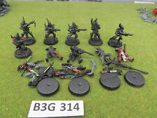 Warhammer 40k 10 Dark Eldar Warriors w/ bits b