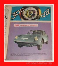 SAAB regina dei rally 300 ALL'ORA 1967 Intrepido N 3