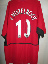Manchester United 2002-2004 Home Nistelrooy Football Shirt Size XL /21820