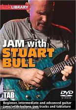 LICK LIBRARY JAM WITH STUART BULL Learn To Play Guitar TAB Shred Blues Rock DVD