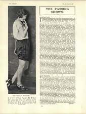 1922 Miss Phyllis Monkman Excellent Dancer Nellie Melba Marie Tempest