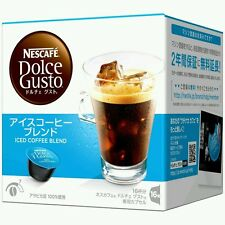 Dolce Gusto Iced Coffee Blend (Japan) 16Pods/servings loose in UK Quick Delivery