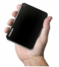 New Toshiba Canvio Connect II 3TB USB 3.0 Portable Hard Drive - HDTC830XK3C1