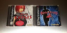 Dino Crisis 1 + 2 Lot ☆☆ Complete w/ MINT CASES ☆☆ - PS1 Playstation 1