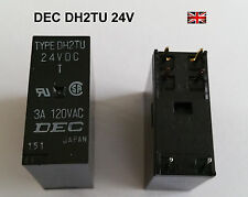 Relay original DEC 24v DH2TU DH24D2 Denon Rotel Yamaha Audio Stereo HiFi NEW