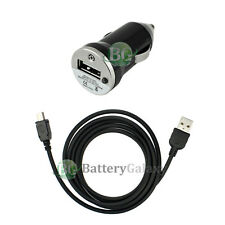 Battery Car Charger+USB Cable for Motorola RAZR RAZOR V3 V3C V3i V3M V3R V3T