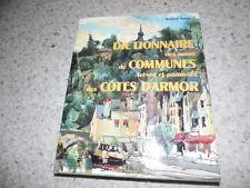 1992.Dictionnaire noms communes cotes d'armor.Bernard Tanguy