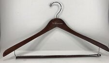 "10 x Polo Ralph Lauren Wooden Wood 17 1/4"" Clothing Designer Dress Shirt Hangers"