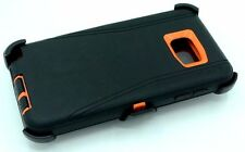black org for Samsung Galaxy Note 5 defender case w/Belt Clip&screen protector
