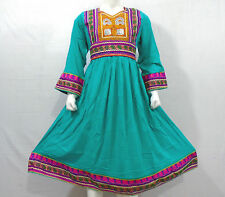 Kuchi afghan banjara tribal boho hippie style brand new robe ethnique ND-055