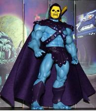 Custom Motu Classic He-man Skeletor Purple CAPE  Marvel Legends DC Collectibles