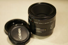 Minolta Macro 50mm F/2.8 AF Lens For Sony/Minolta