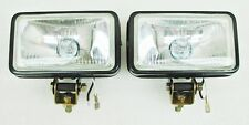 "3""X5""ALL BLACK METAL 55 WATT HALOGEN DRIVING/FOG LIGHTS TRUCK/CAR/SUV/ATV ^^^^ZH"