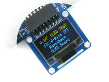 0.96inch OLED Display Module (A) 128*64 SSD1306 SPI I2C with horizontal pinhead