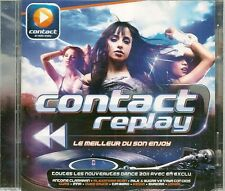 2 CD COMPIL 38 TITRES--CONTACT REPLAY--KESHA/USHER/INNA/BERG/MORANDI/SHAKIRA