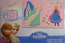 Disney Frozen make your own Felt Scene & Sticker Sheet Creative Toy Set