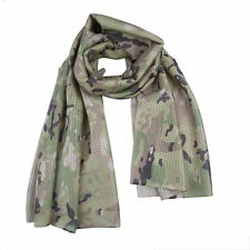 Tactical Mesh Scarf - Light Multicam  / MTP Style Colours - Breathable Material