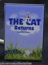 "The Cat Returns Movie Poster 2"" X 3"" Fridge Magnet. Japanese Anime"