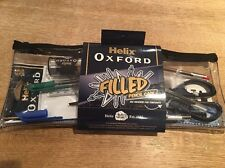 Helix Oxford Filled Pencil Case For School Or University; Brand New; Free Post