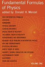 Fundamental Formulas of Physics, Vol. 1