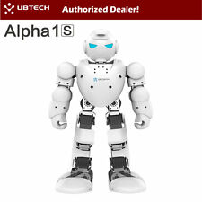 UBTECH Alpha 1S Intelligent Humanoid Bluetooth Control Robot White IOS Android