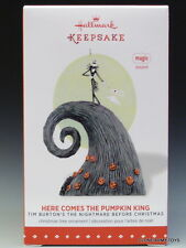 2015 Here Comes the Pumpkin King Nightmare Before Christmas HALLMARK ORNAMENT