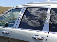 2007-2013 Mitsubishi Outlander 6Pc Chrome Pillar Post Stainless Steel