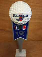 Michelob Light 19th Hole - 14'' Tap Handle - NOS 2001 *Giant Golf Ball - Vintage