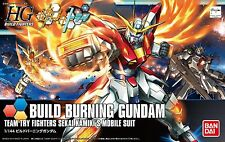 Gundam Build Fighters Try HGBF #018 Build Burning Gundam 1/144 Model Kit Bandai