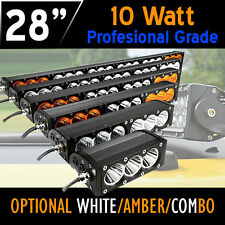 PRO LED Work Light Bar – 150w 28 Inch - 10w CREE LED's 12v,24v,4x4 4WD Offroad