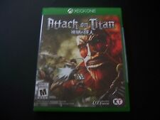 Replacement Case (NO  GAME) ATTACK ON TITAN XBOX ONE 1 XB1 - 100% ORIGINAL
