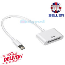 De calidad superior 30 Pines a 8 Pines Cable Adaptador De Cargador Para iPhone 4 a iPhone 5 6 7