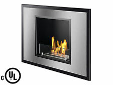 Ignis Recessed Ventless Ethanol Fireplace Vienna - UL / CUL Approved Fireplace