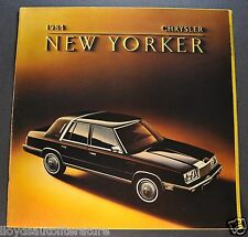 1984 Chrysler New Yorker Catalog Sales Brochure Excellent Original 84