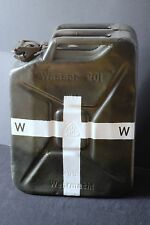 GENUINE 1941 GRAU WWII GERMAN 20L WATER WASSER CONTAINER JERRYCAN SUPER RESTORED