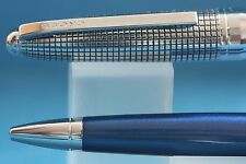 Cross Revere Dark Blue Ballpoint Pen with Chrome Plated Trim, Brand New